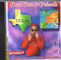 PAUL ORTA & FRIENDS CD Album Cover