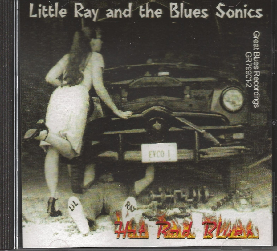 HOT ROD BLUES CD Album Cover...for more information click on photo