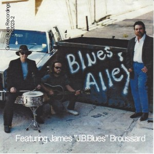 BLUES ALLEY CD Album Cover Photo