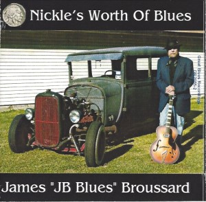 NICKLE'S WORTH OF BLUES CD Album Cover Photo