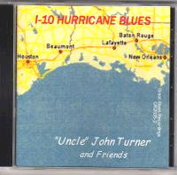 I-10 HURRICANE BLUES CD Album Cover...for more information click on photo