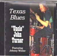 TEXAS BLUES CD Cover