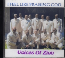 I FEEL LIKE PRAISING GOD CD Album Cover Photo